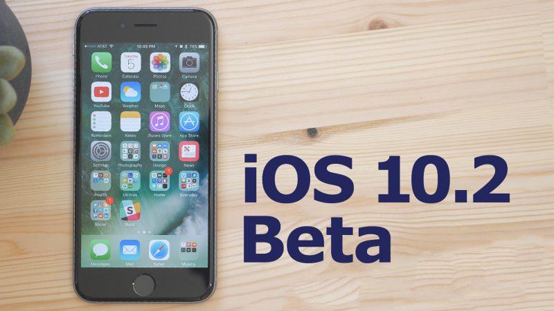 iOS 10.2 Public beta 4 Yayınlandı