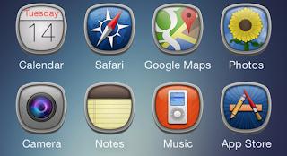 IOS 7 için en iyi Winterboard temaları