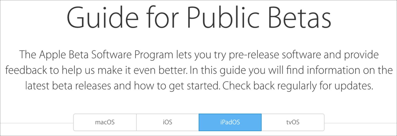 Apple-Guide-for-Public-Betas