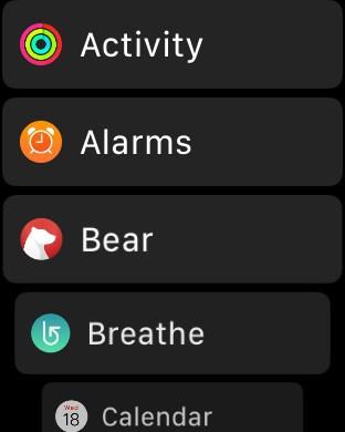 Apple-Watch-Ana-Ekranında-Liste-Görünümüne-Geçmek-1