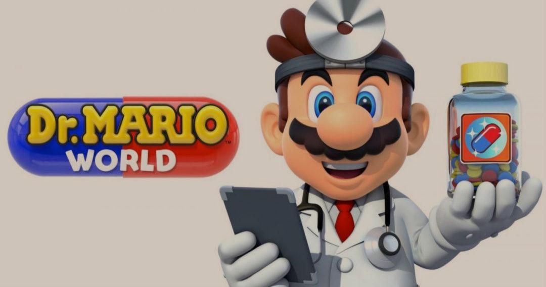 Dr. Mario World App store'da Yayınlandı