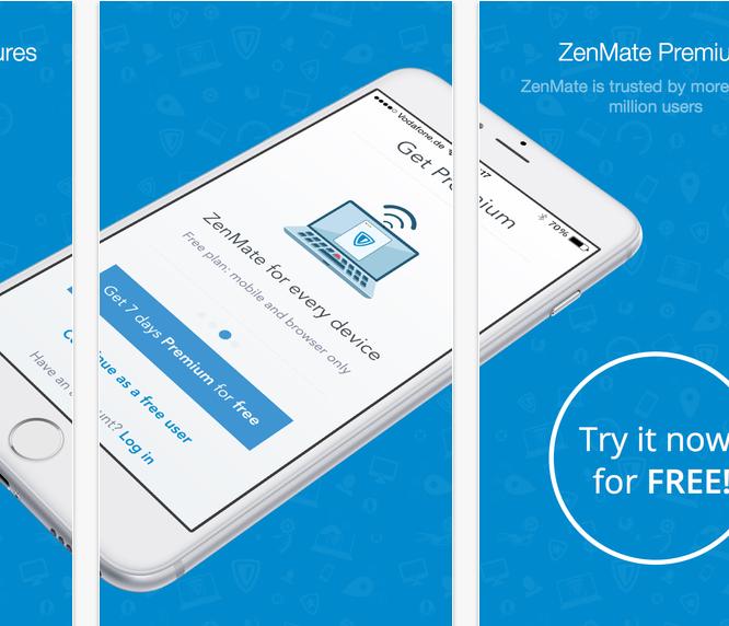 Twitter'a Giremeyenler için ZenMate VPN Uygulaması