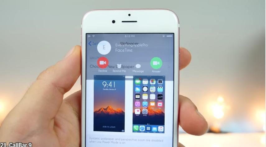 iOS 9.3.3 için Uyumlu 50 adet Popüler Tweak VİDEO