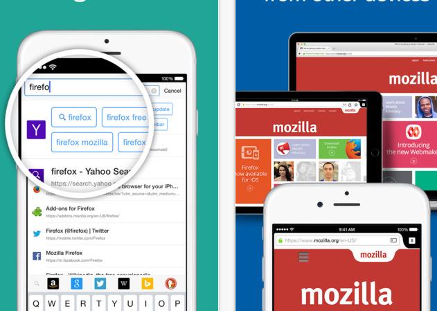Firefox Yeni iOS güncellemesi ile Artık Daha hızlı