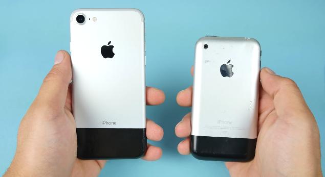 Seneler Sonra iPhone 2G ile iPhone 7 Karşılaştırması