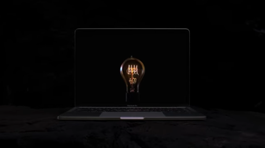 "Apple'dan Macbooklar için yeni Reklam ""Bulbs"""