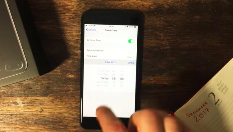 iOS 11.1.2 Güncellemesindeki Tarih Hatası! Çözümü