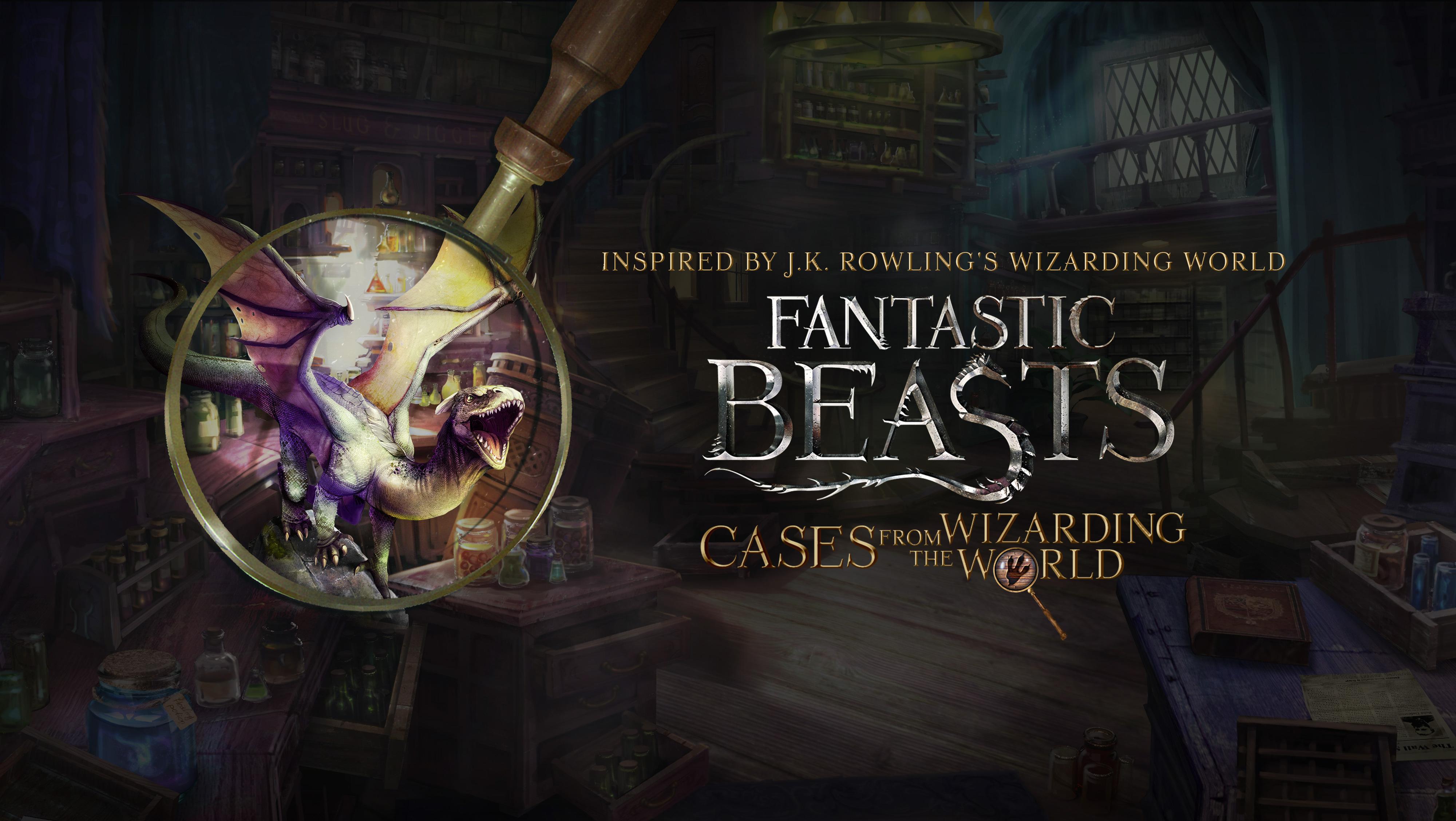 Fantastic Beasts: Cases Oyunu App Store'da ÜCRETSİZ