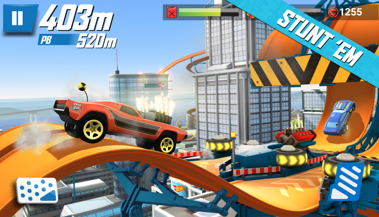 Hot Wheels: Race Off Oyunu App store'da ÜCRETSİZ