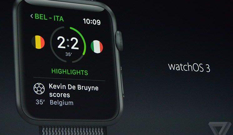 Apple watchOS 3.2.2 güncellemesini yayınladı