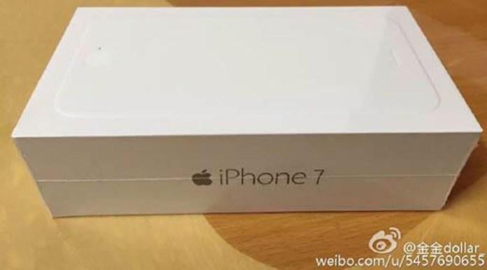 iPhone 7'ye Ait olduğu iddia edilen kutu görseli paylaşıldı