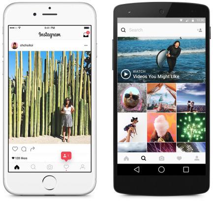 Instagram Tasarımı Değişti ve Güncellendi