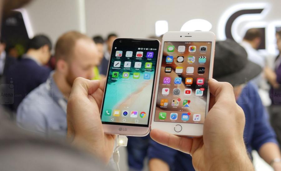 iPhone SE, LG G5 ve Galaxy S7 Edge Hız Testi