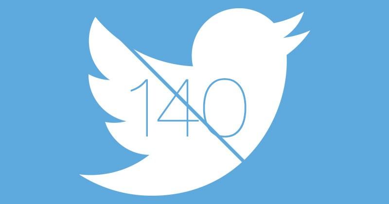 Twitter 140 karakter sınırı kalkıyor mu