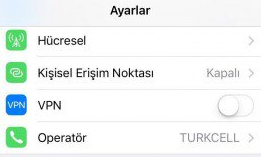 Wifi Assist kapatmak