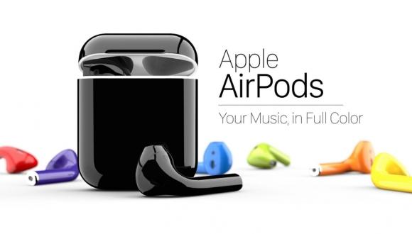 Apple AirPods Kulaklıklara 58 Renk Seçeneği