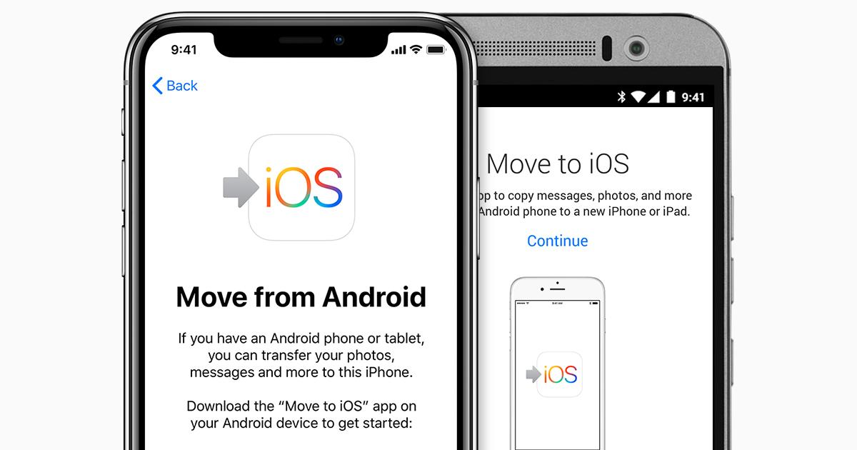 İOS 12'de Android'den iPhone'a Nasıl Transfer Yapılır?