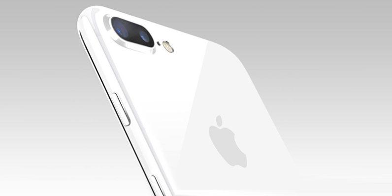 iPhone 7 için yeni Beyaz renk ( Jet White ) Gelebilir!