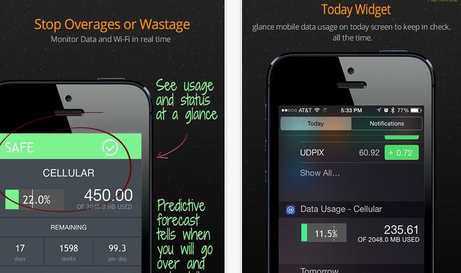 Data Usage Pro Uygulaması App Store'da ÜCRETSİZ