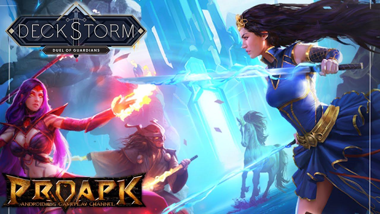 Deckstorm: Duel of Guardians Oyunu App Store'da Ücretsiz