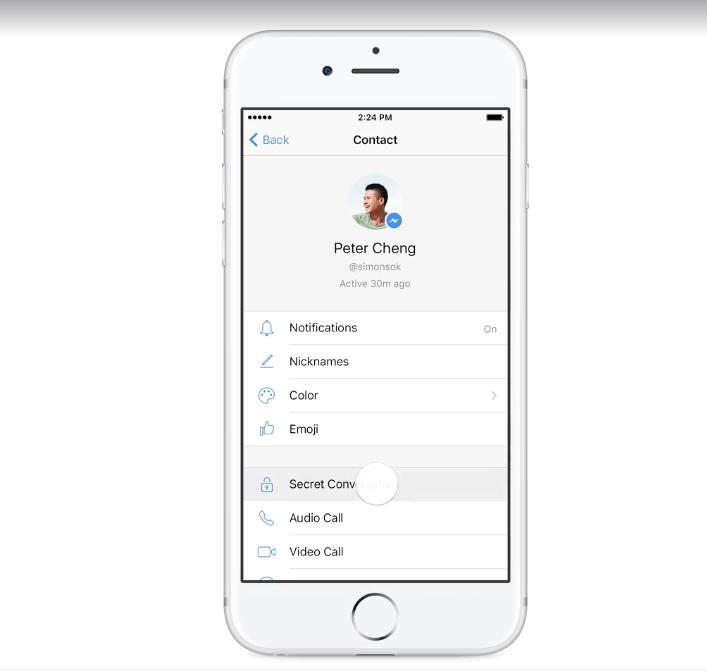 Facebook Messenger'a Gizli Görüşme Özelliği Geliyor