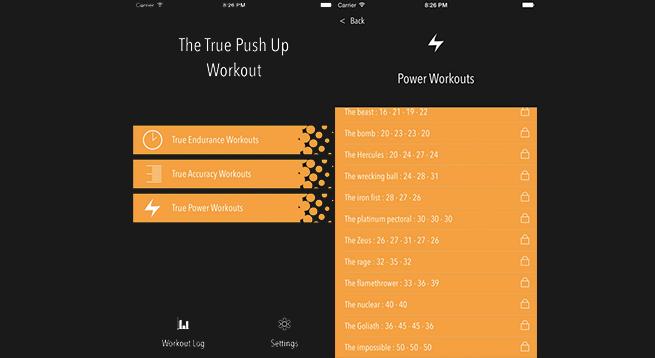 The True Push Up Workout Uygulaması App Store'da ÜCRETSİZ