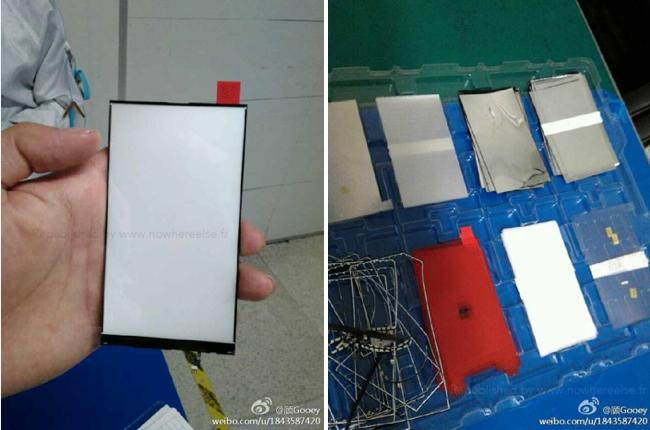 iPhone 6 aydınlatma panelinin fotoğrafı sızdırıldı!