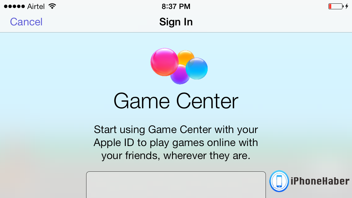game-center-beyaz-ekran-hatasi