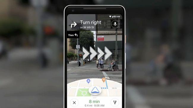Google Haritalardaki Artırılmış Gerçeklik özellikleri iOS'a geldi
