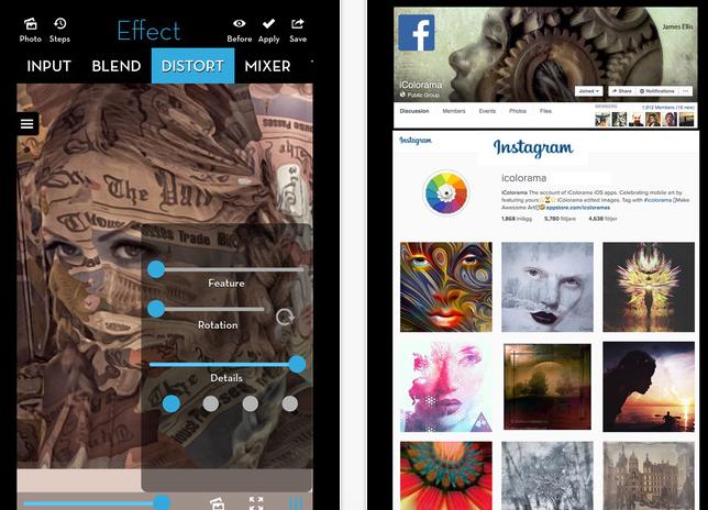 iColorama S Fotoğraf Uygulaması App Store'da ÜCRETSİZ