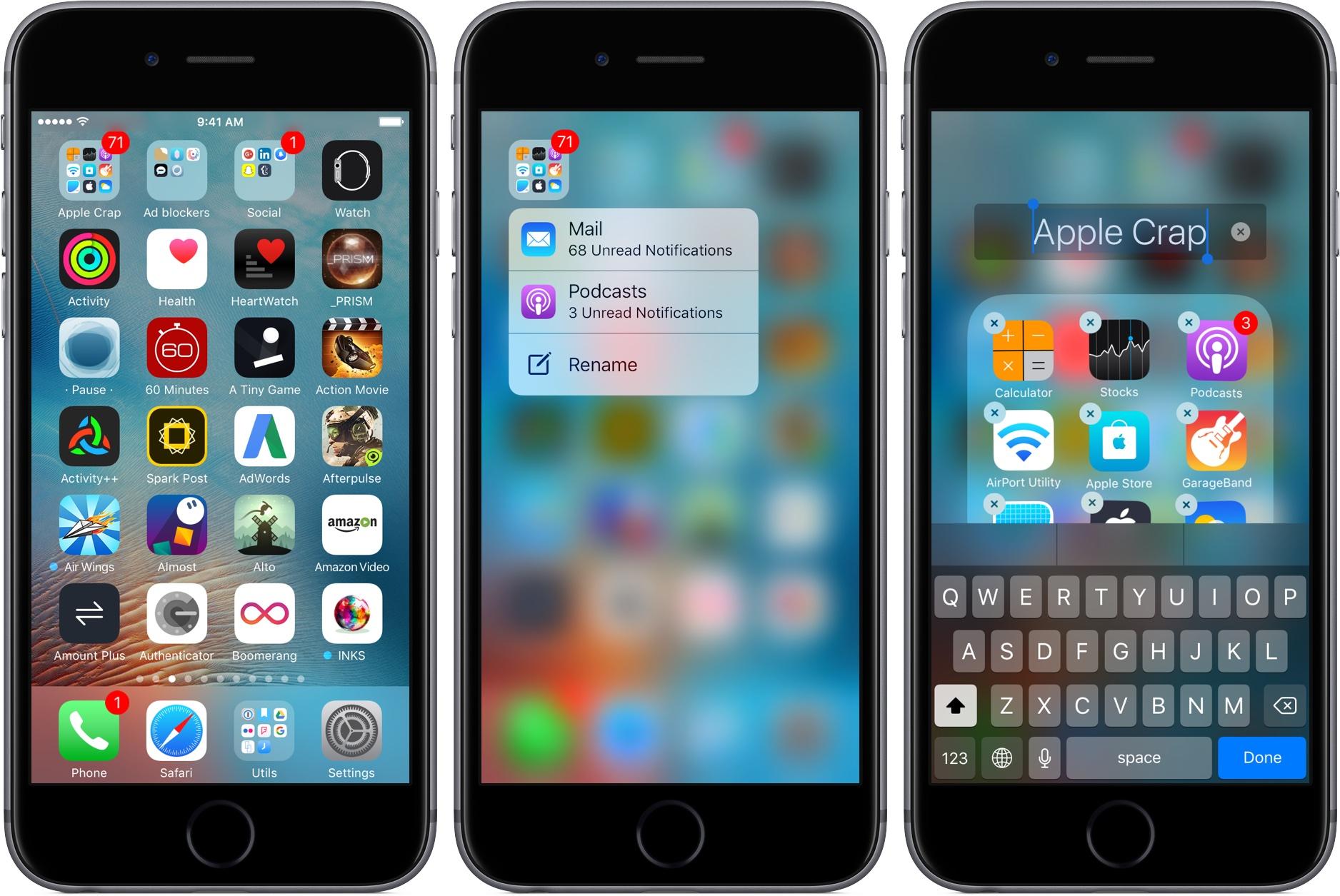 iOS 10 'da Bildirimleri 3D Touch ile Görüntülemek