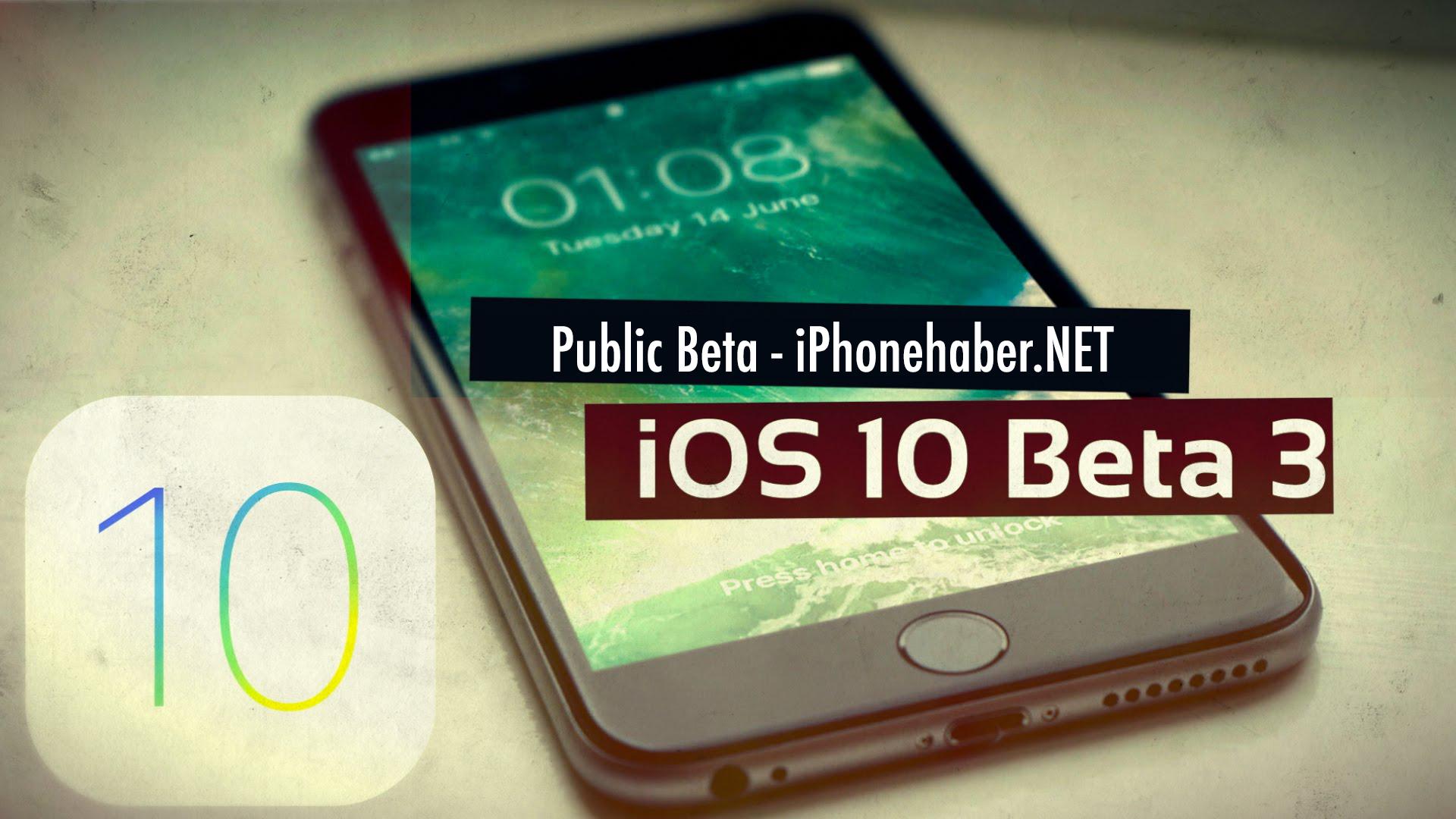 iOS 10 Public Beta 3 Yayınlandı (Halka Açık ) Kurulum Rehberi