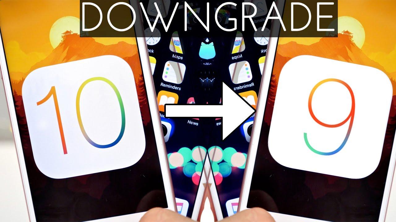 iOS 10 Beta 1 'den IOS 9.3.2'ye dönüş Yöntemi
