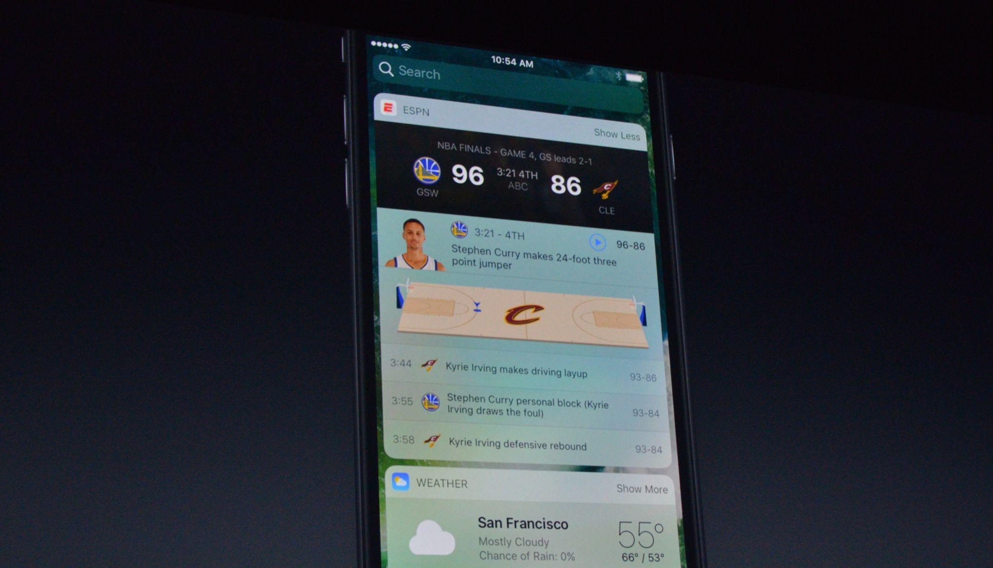 iOS 10 bilgiler
