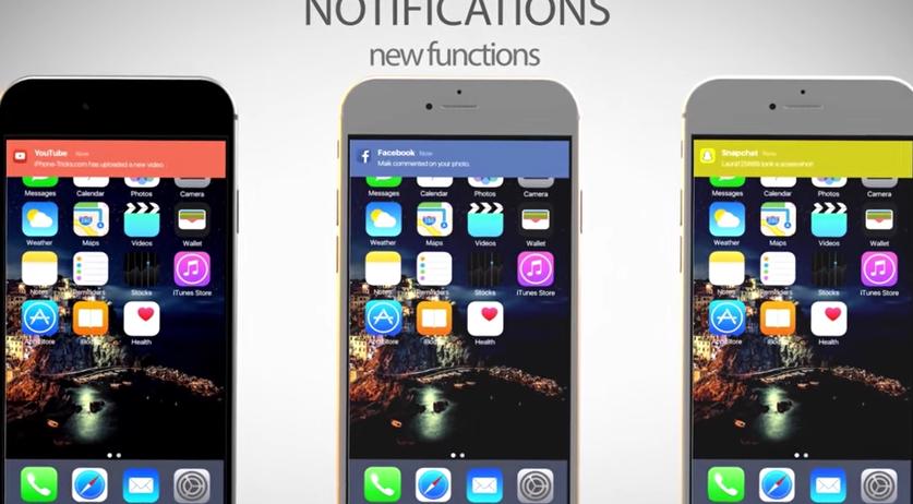 Yeni iOS 10 Konsept Videosu Yayınlandı!