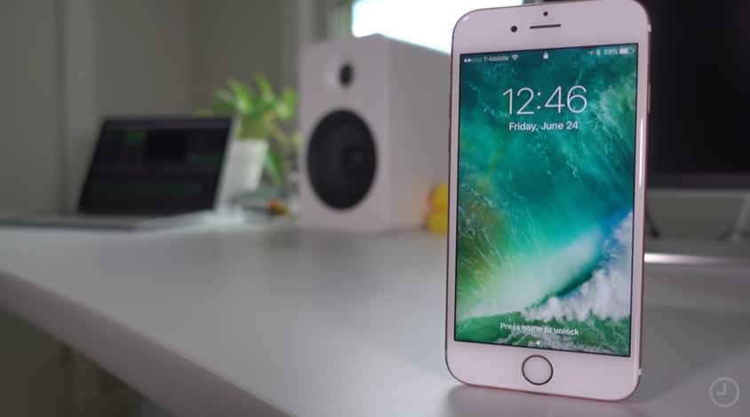 iOS 10 ile Gelecek olan Yeni Kilit Ekranı Özellikleri Video