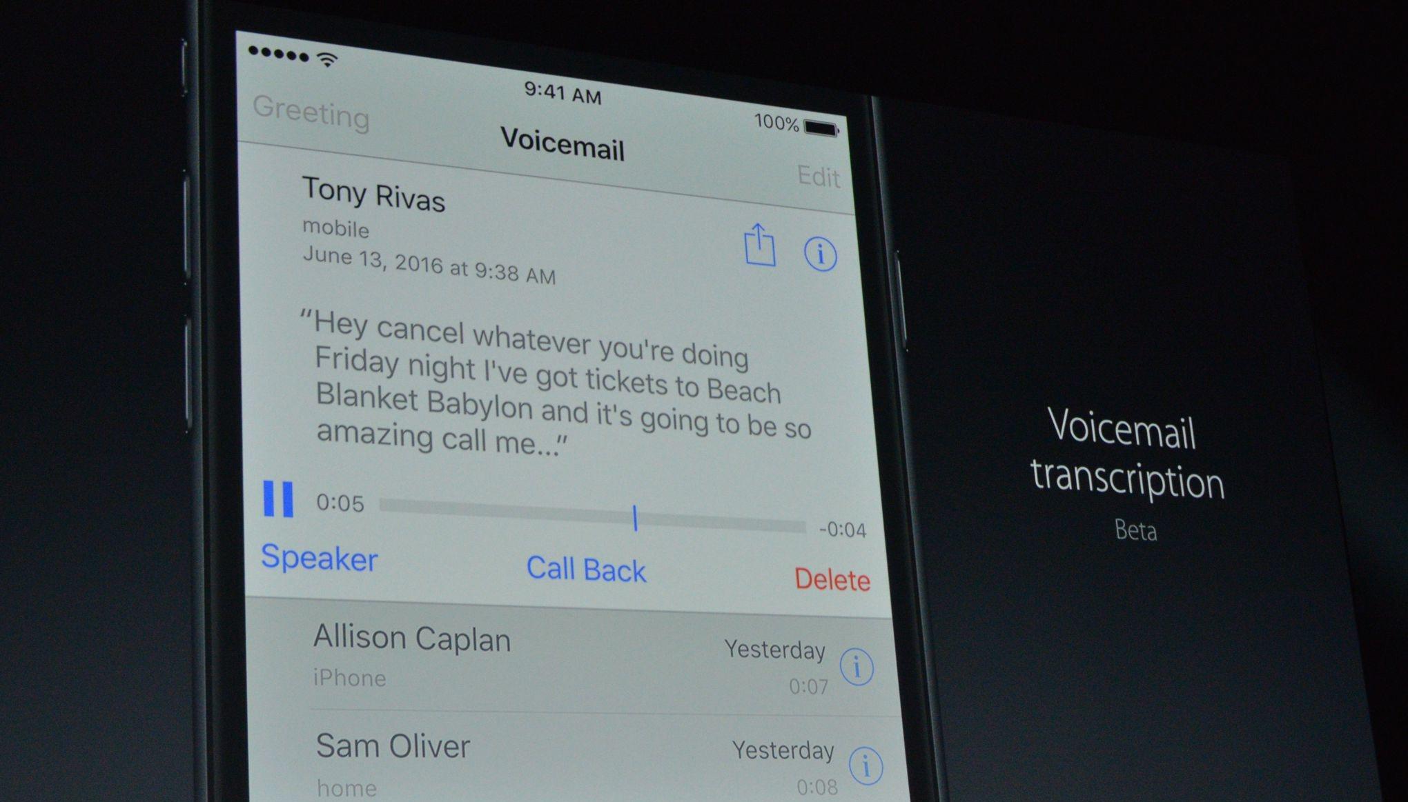 iOS 10 mesajlar