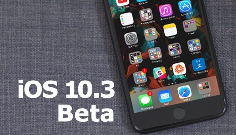 iOS 10.3 Beta 2 Yayınlandı