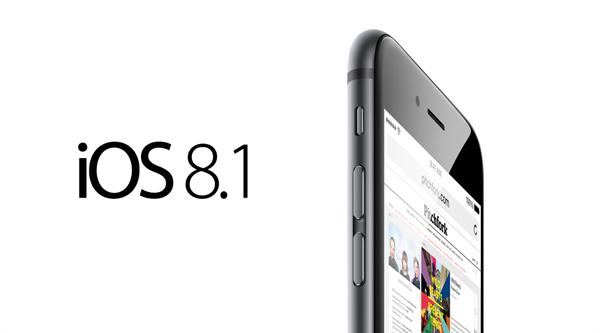 iOS 8.1 Güncellemesi Yayınlandı