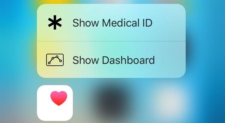 iOS-9.3-3D-Touch-Health-Home-screen-shortcuts-iPhone-6s-screenshot-001