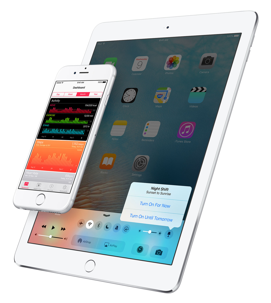 iOS gece modu