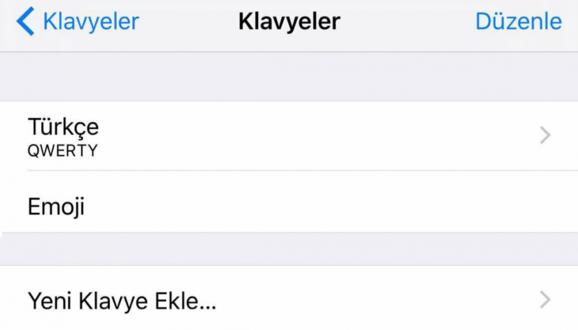 iOS gizli ifadeler