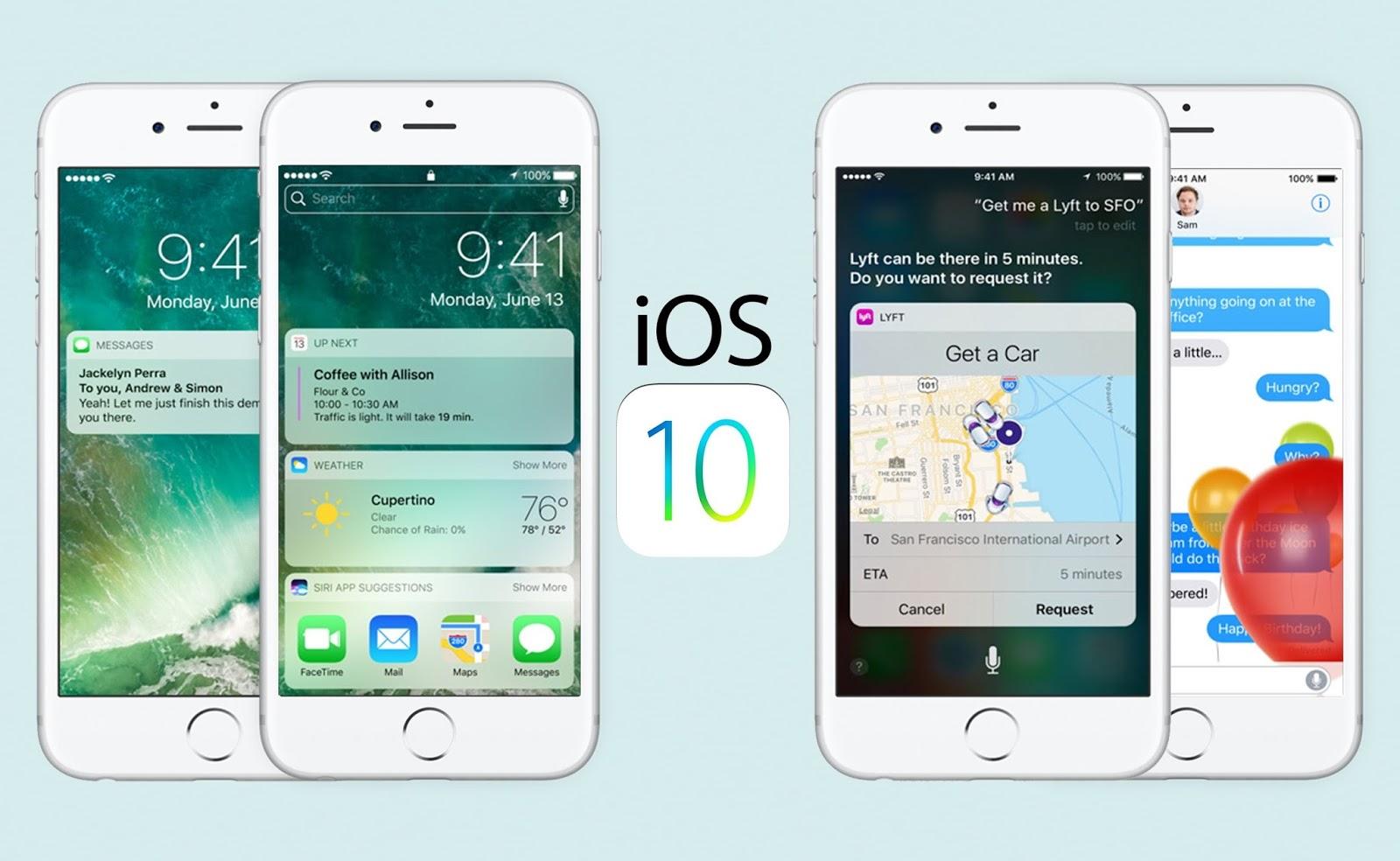 iOS 10 Güncellemesinin Bölgelere göre Yayınlanma Saatleri