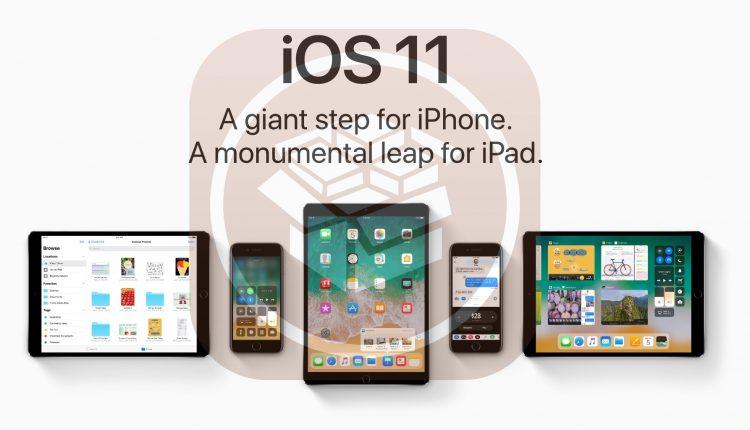 iOS 11 tasarımı sizede Jailbreak'i hatırlattı mı ?