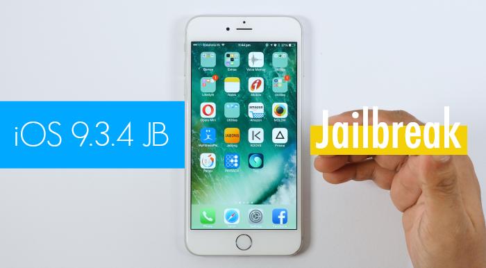 iOS 9.3.4 Jailbreak Videosu Görüntülendi!