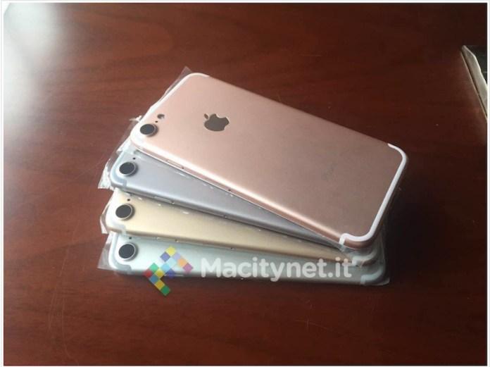 iPhone 7'nin Renk seçenekleri görüntülendi