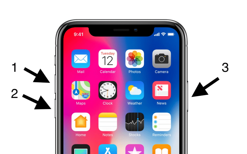 iPhone X Reset Atma Yöntemi