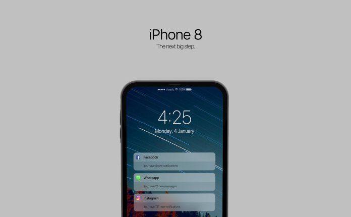 iPhone 8 için Konsept Tasarım Görüntüleri
