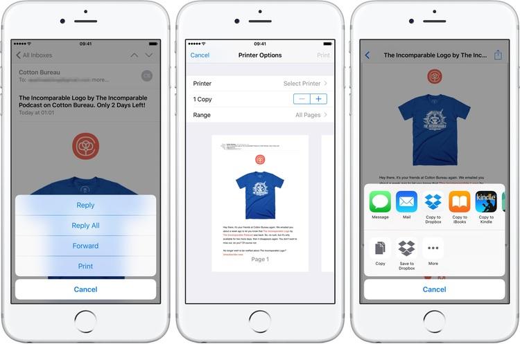 iOS 10 da 3D touch ile Dosyaları Pdf Formatına Dönüştürme