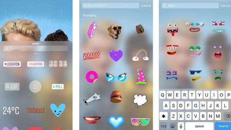 Instagram Hikayesine GIF nasıl eklenir ?